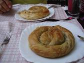 Selanik'te börek keyfi