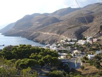 Hora Sfakion köyü