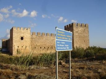 Orthi Amos' ta venedik kalesi