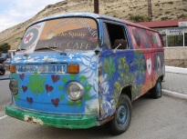 Matala' da hippi minibüsü