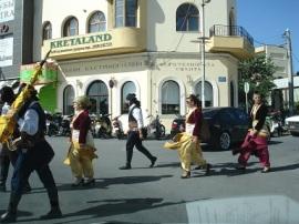 Heraklia' da kutlama töreni