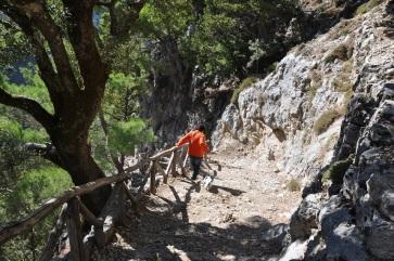 Samarias kanyonu girişi