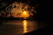 Plakias' ta gün batımı