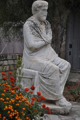 Gortyn' de Zeus heykeli