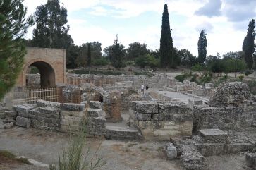Gortyn kazı alanı