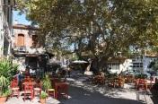 Antissa köy meydanı