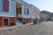 Molivos' ta korunan evler