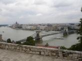 Budapeşte zincirli köprü