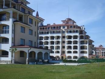 Burgaz' da Tatil siteleri