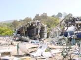 Uçak kazası film platosu