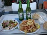 Terracina'da akşam yemeği