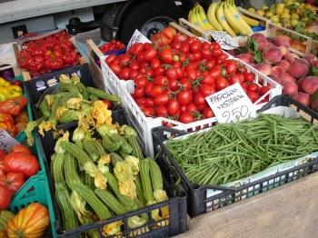 Cerbaia köylü pazarı, İtalya