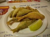 La Spezia' da akşam yemeği