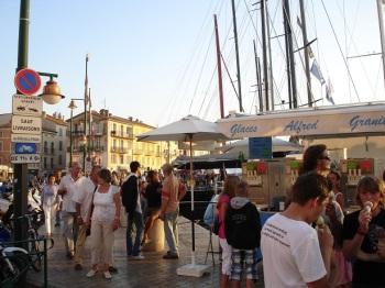 St. Tropez sahili