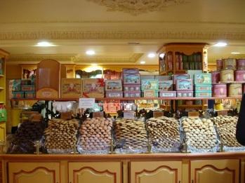 Strasbourg' da kurabiyeci