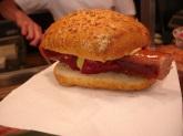Freiburg' da sosisli sandviç