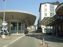 İsviçre' den İtalya' ya giriş
