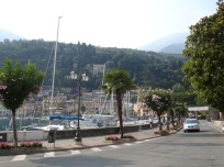 Garda gölü sahili