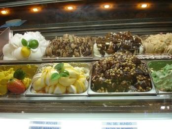 Siena' da dondurmalar