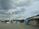 Bulgaristan sınır giriş kapısı