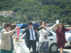 Poros' da düğün alayı