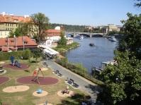 Prag, Vltava nehri
