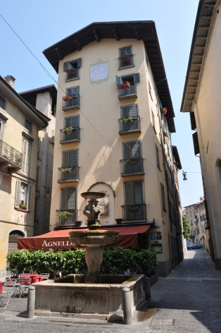 Bergamo kale içi