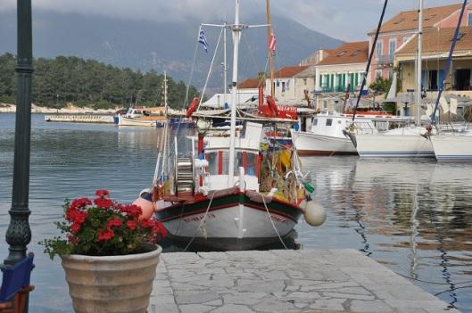 Fiskardo limanı, Kefalonya