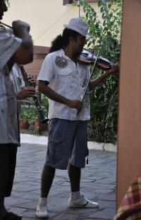 Panagia' da Roman müzikçiler