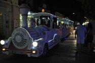 Skala Potamia' da akşam treni