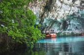 Melissani yer altı gölü