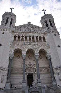 Lyon Notr Dame kilisesi