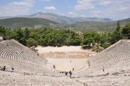 Epidavros, anfi tiyatro