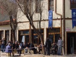 Eskişehir'de meydan kahvesi