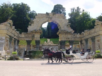 Schönbrunn, Roman ruins