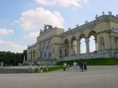 Schönbrunn Saray bahçesinde gözlem terası