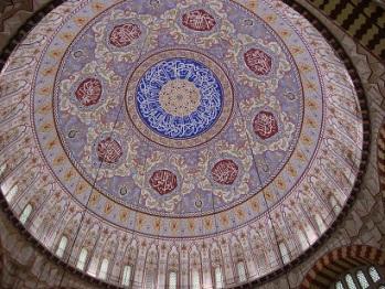 Selimiye camii anakubbesi