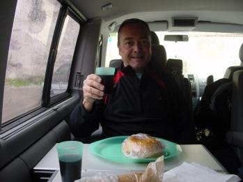 Sofia`da karavan muhabbeti