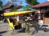 Suncity' de bisiklet taksi