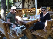 Varna yolunda dağ lokantası
