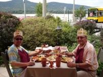Visegrad' da kral sofrası