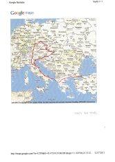 Orta Avrupa Turu Yol Haritası-3