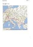 Mini Avrupa seyahati yol haritası