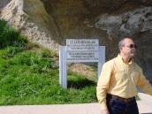 Kaya Mezarları girişi, Kastamonu