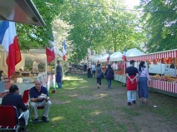 Bath' da Fransız pazarı