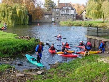 Kano sporcuları, Cambridge