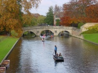 Cambridge' de gondol gezisi