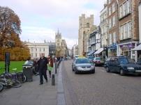 Cambridge sokakları