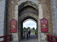 Cardiff kalesi kapısı