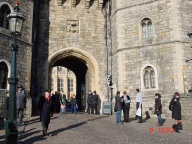 Windsor Sarayı girişi